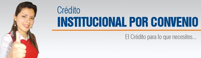 Crédito Consumo Institucional