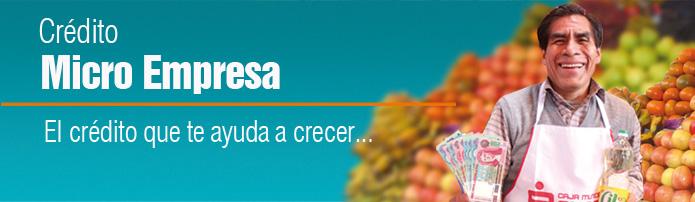 Crédito Micro Empresa