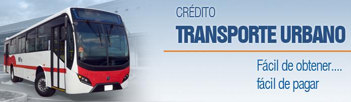 Crédito Automotriz para Transporte Urbano